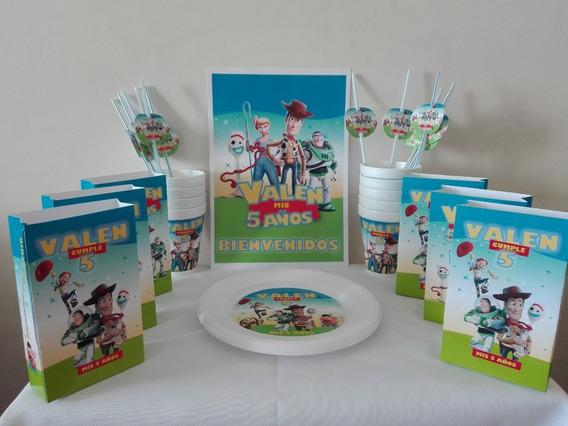 Cotillón Personalizado Toy Story Sin Bolistas E Invitaciones