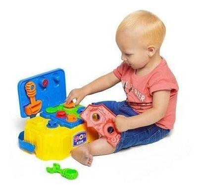 Caixa De Ferramentas Infantil Completa Calesita