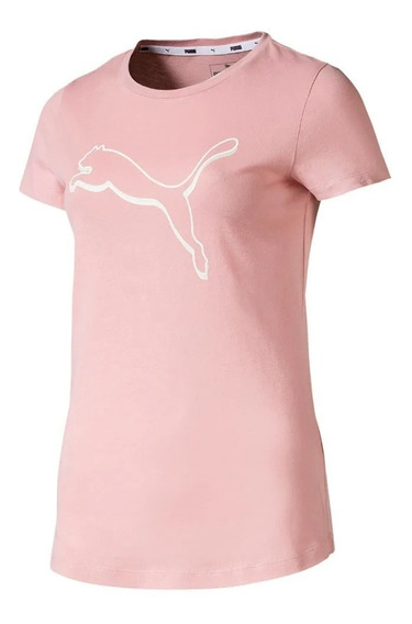 Blusa Camiseta Puma Athletics Tee Rosa - Original 580106 14