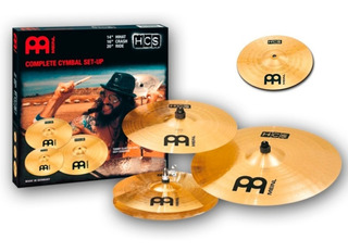 Set De Platiillos Meinl Hcs Hihat Crash Ride