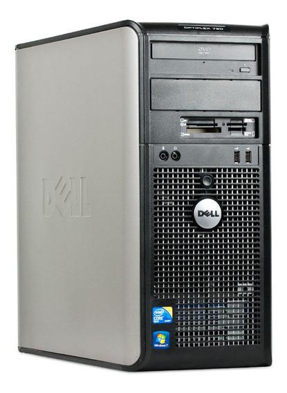 Desktop Dell 760 Core2 Duo 4gb 160gb