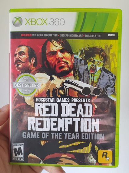 Red Dead Redemption Game Of The Year Edition Para Xbox 360