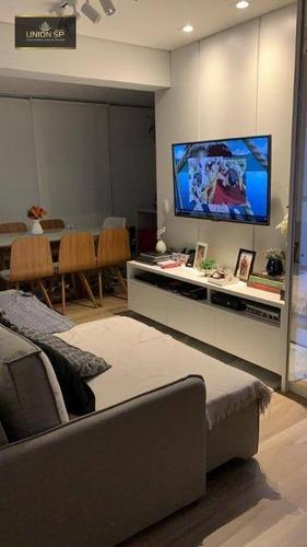 Imagem 1 de 22 de Apartamento Com 2 Dormitórios À Venda, 62 M² Por R$ 860.000,00 - Lapa - São Paulo/sp - Ap50606