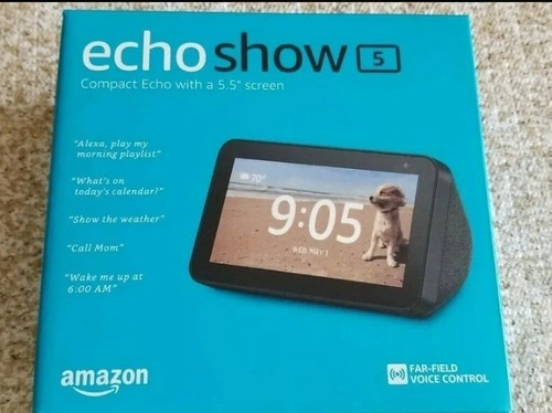 Imagen 1 de 3 de Amazon Echo Show 5 Alexa Nuevo Sellado
