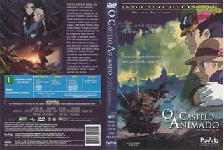 Dvd Original - O Castelo Animado - Hayao Miyazaki - Coleção