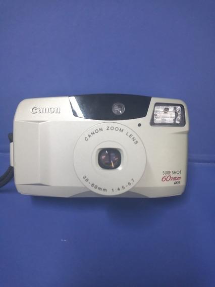 Camera Fotográfica Analógica Canon Dure Shot 60 Funcionando