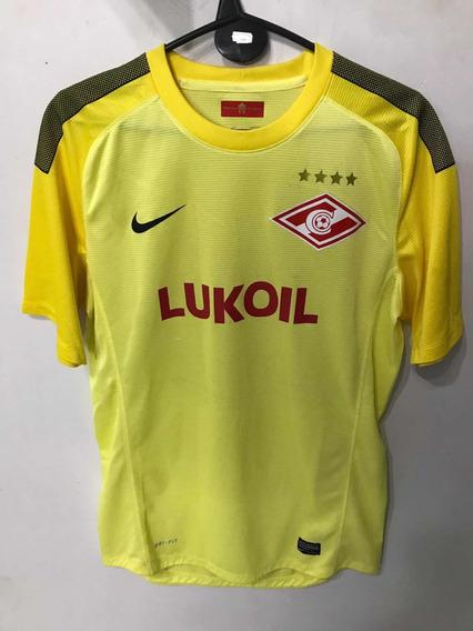 Camiseta Spartak Moscú - Talle L - Número 30 - Nike Dri-fit