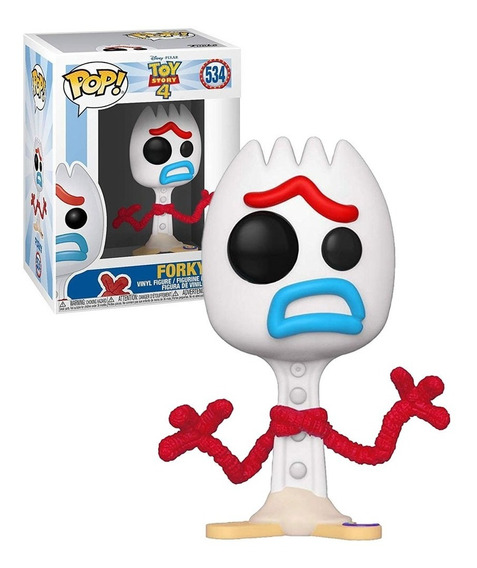 Boneco Funko Pop Toy Story 4 Exclusive - Forky 534