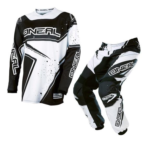 Conjunto Motocross O´neal Element Mx Jersey + Pant Racewear