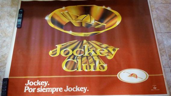Antiguo Poster Cigarrillos Jockey Club * Publicidad Años 70
