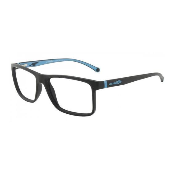 Arnette An7113l 2292 54 - Preto/azul Fosco