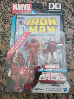 Iron Man Marvel Universe Comic Book!!!