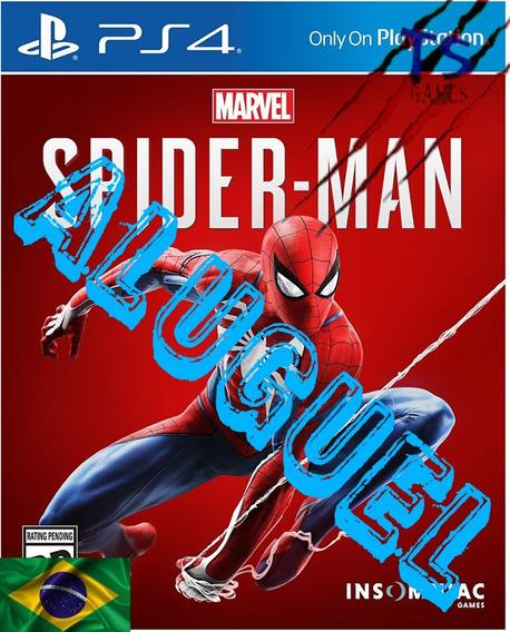 Spider Man Ps4 Psn Original 1(aluguel 15 Dias)