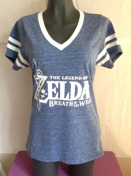 The Legend Zelda Breath Of The Wild Playera Dama Hottopic