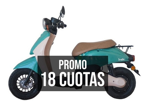Moto Electrica Scooter Indie Patentable 18c/$ 11500 Ciclofox