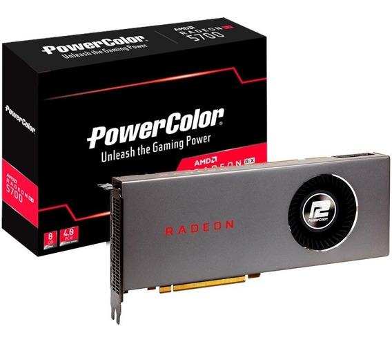 Placa De Vídeo Powercolor Amd Navi Rx5700 8gb 256 Bits