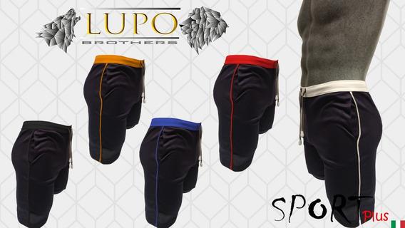 Short Sport Plus (s, M, L) Lupo Brothers Con Envío