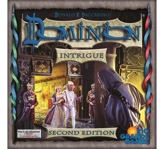 Dominion: Intrigue 2nd Edition Board Game.