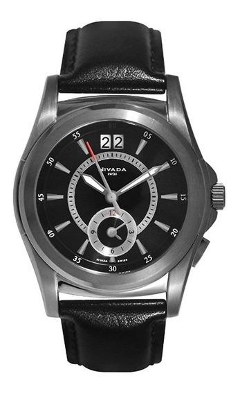Reloj Nivada Billionaire Nvng26331gacni Hombre Original