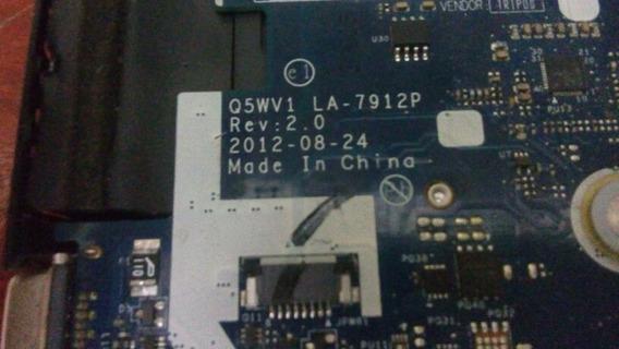 Placa Mãe E Processador I7 3ger. 8 Gbmem.acer Aspire V3 571