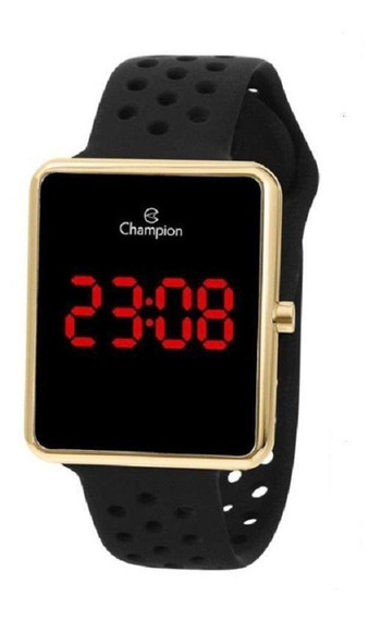 Relogio Unissex Esportivo Champion Ch40081v Digital Led