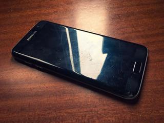 Samsung Galaxy S7 Edge Black Pantalla Rota Desbloqueado