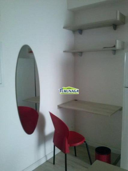 Lindo Studio 100% Mobiliado Condomínio Insiide, Gopoúva, Guarulhos. - St0025