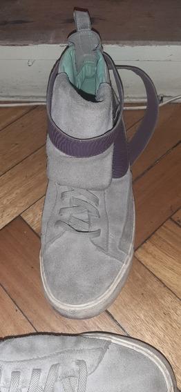 Zapatillas Nike Botitas Gamuza