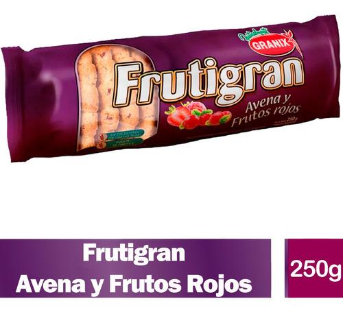 Galletitas Frutigran Avena Frutos Rojos Galletas Granix