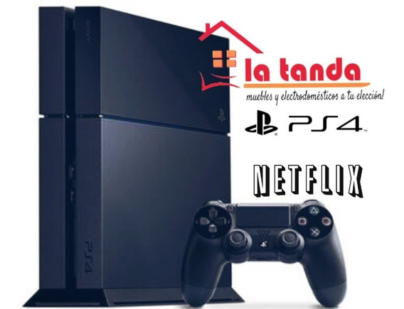 Play Station 4 500gb + Fifa2019 + Netflix