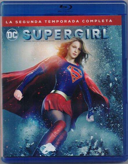 Supergirl Segunda Temporada 2 Dos Blu-ray