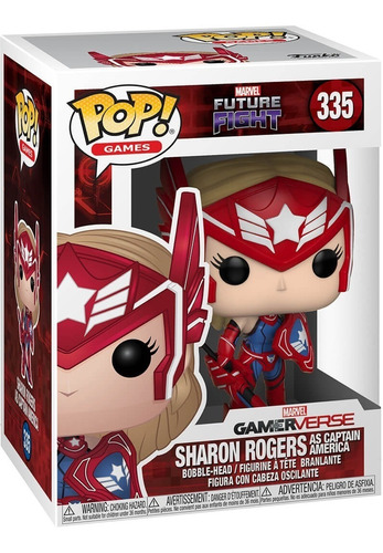 Funko Pop Sharon Rogers (335) Marvel Future Fight