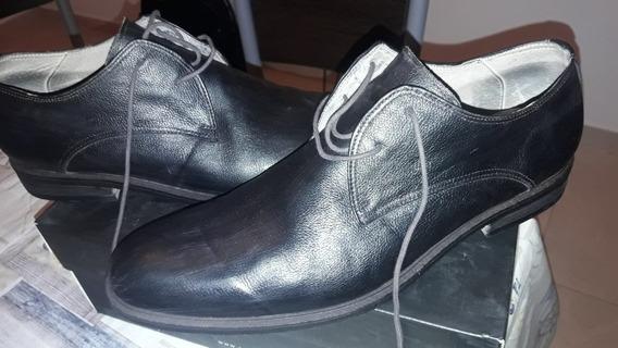 Zapatos De Vestir Pasotti Talle 46 Un Solo Uso