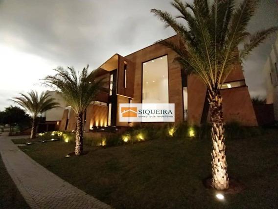 Casa Com 5 Dormitórios À Venda, 810 M² Por R$ 5.500.000 - Alphaville Nova Esplanada I - Votorantim/sp - Ca1540