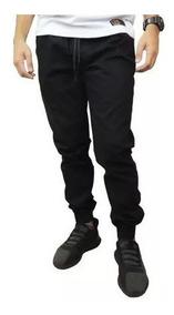 Calça Sarja Jogger Joger Masculina Slim C/ Elástico Premium
