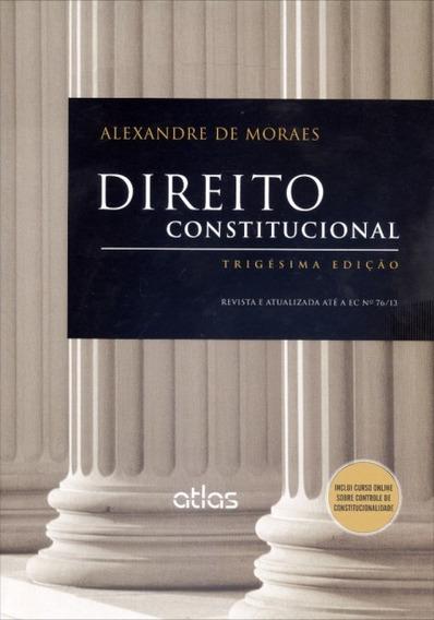 Livro - Direito Constitucional Trigésima Edição