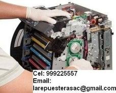 Técnicos Impresoras Laser Matriciales Ticketeras Plotters Hp