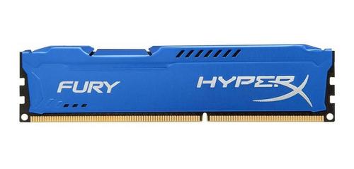 Memoria Kingston Hyperx Fury Blue 4gb Ddr3 1866 Mhz Cl10