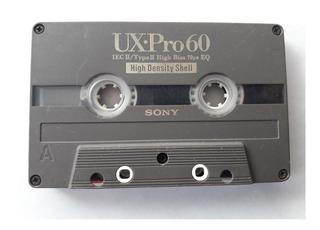 Cassette Vintage Sony De Segunda Para Coleccion