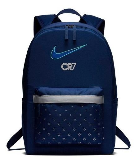 Mochilas Nike Cr7 Azul Original Importada Ba6409492