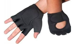Luva Academia Peso Malhação Ciclismo Moto Proteger As Mãos