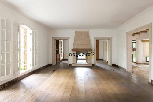 Imagem 1 de 24 de Casa Com 6 Dormitórios À Venda, 515 M² Por R$ 14.000.000,00 - Jardim Paulistano - São Paulo/sp - Ca3807