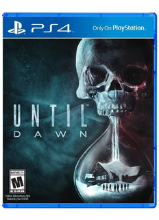 Until Dawn Ps4, Disco, Nuevo Y Sellado