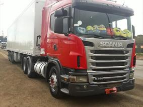Scania G 380 6x2 Baú Truck Ano 2010