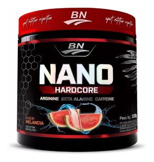 Combo Pre-treino Nano Hardcore 300g Melancia -( 3 Unidades )