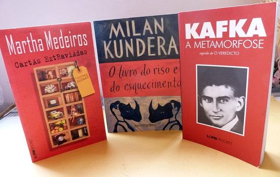 Lote 3 Livros Franz Kafka Metamorfose+ Pocket Bolso Martha