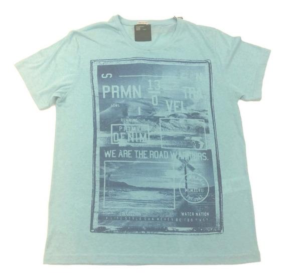 Camiseta Estampada Gola Fina Puramania