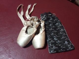 Vendo Puntas De Ballet Usadas