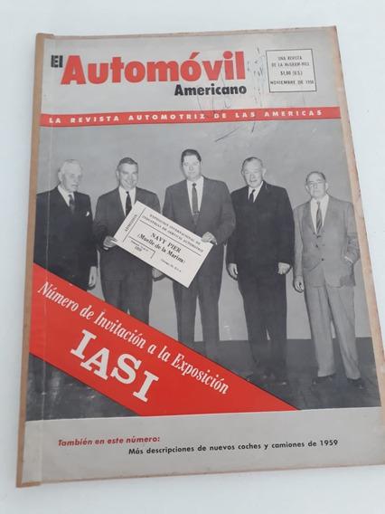 Revista Rara El Automóvil Americano !!