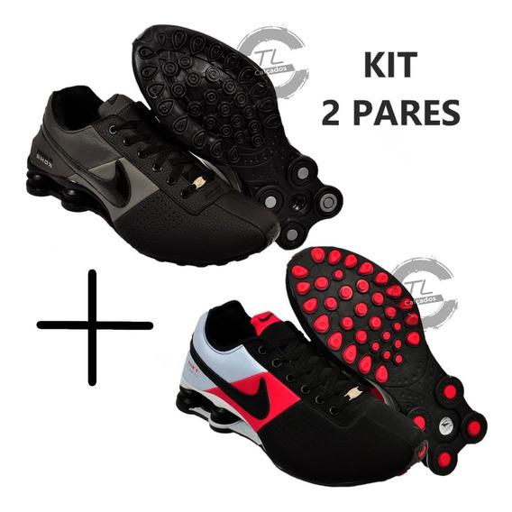 Tênis Shox Deliver R4 4 Molas Promoção Kit 2 Pares + Frete